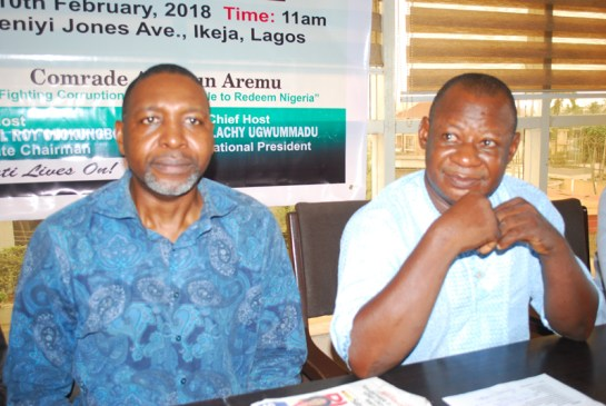 Barrister Malachy Ugwummadu and Mr.Abiodun Aremu