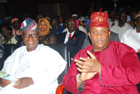 Mr. Sunday Ehindero ,former Inspector General of Police and Hon Tunde Braimoh