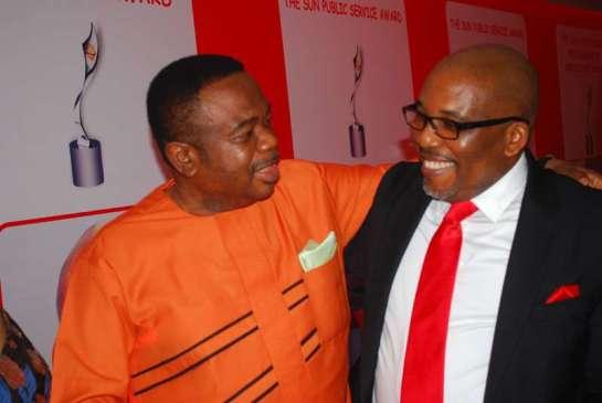 Mr.Tony Okoroji and Mr. Eric Osagie