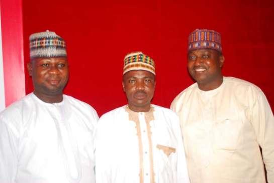 Alhaji Moso Abdullahi, Mr. Sholagbeni Abdulfatai, and Alhaji Biodun Baraje