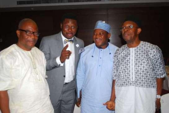 Mr. Sola Bello, Mr. Yemi Adeoye, Mr. Yakubu Lawal and Mr.Emeka Onyejuba