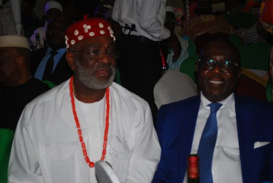 Chief Ben Obi and Dr.Ernest Ebi