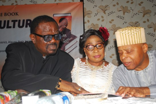 Chief Adetola Adeniyi and Chief Mrs. Olubunmi Adeniyi and Gen Alani Akinrinade ( rtd)