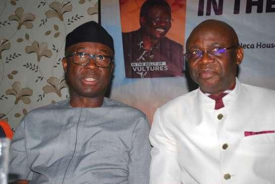 Otunba Niyi Adebayo and Pastor Tunde Bakare