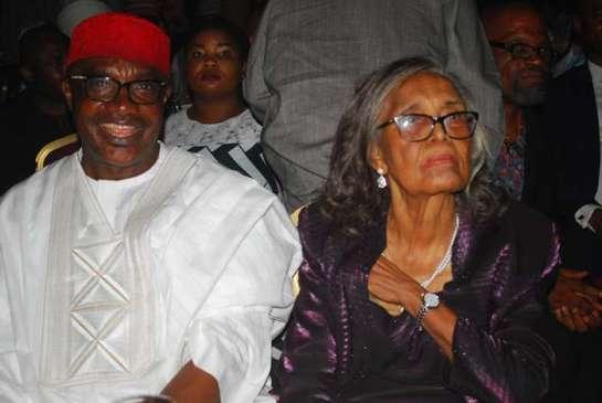 Senator Mao Ohabuwa and Professor Grace Alele Williams