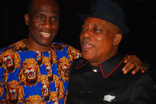 Fidelis Anosike and Prince Uche Secondus