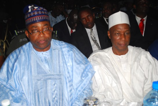 Mohammed Abubakar,governor of Bauchi state and Eng. Rabiu Sulaiman Bichi