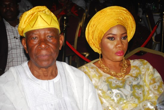 Chief Ade Ojo and wife