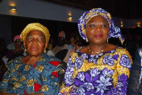 Mrs jakande and Mrs. Serah Sosan