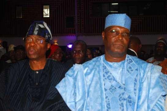 Otunba Gbenga Daniel and Atiku Abubakar