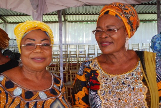 Chief Mrs.Bunmi Jegede and Mrs. Shade Agbalajobi
