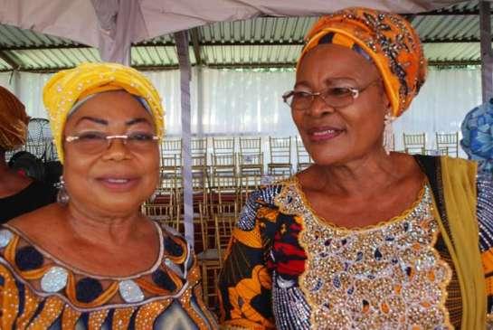 Chief Mrs.Bunmi Jegede and Mrs. Shade Agbalajobi