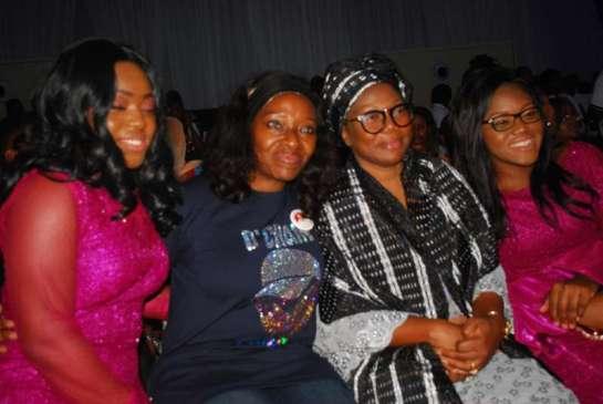 MissCherelle Aboderin,Mrs.Angela Enuwa,Mrs Titilayo Aboderin and Miss.Nicole Aboderin
