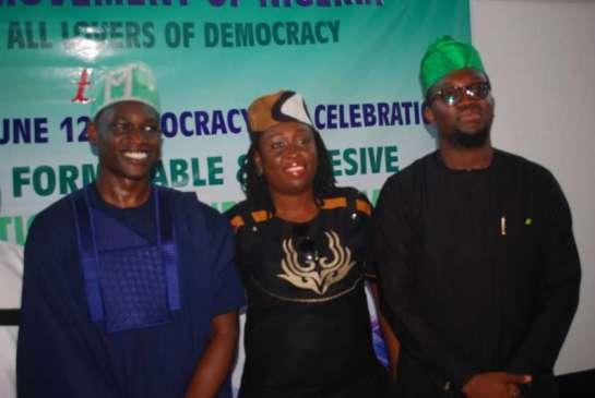 Mr. Abdul Mumuni Abiola,Mrs.Moremi Ojodu and Mr.Opeyemi Oriniowo