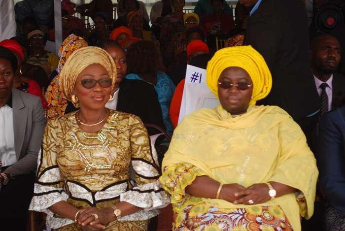 Mrs. Bolanle Ambode and Dr.(Mrs) Idiat Oluranti