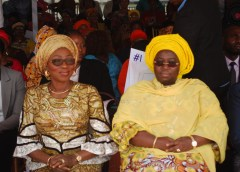 Mrs. Bolanle Ambode and Dr.(Mrs) Idiat Oluranti