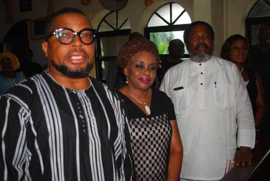 Prince Gbenga Oguntayo,Dr.Amart.and Prince Nduka Obaigbena