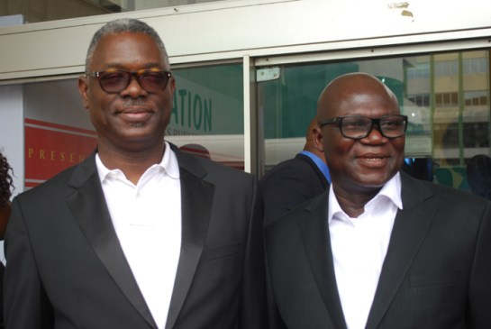 Mr. Akin Oshitokun and Mr. Reuben Abati