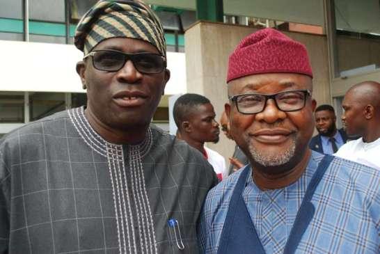 Mr. Folusho Adeagbo and Amb.Toye Okanlawo