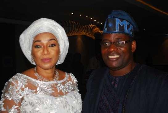 Hon. Adefunmilayo Tejuoso and Hon.and Hon. Olawale Olayinka Abdulsobur