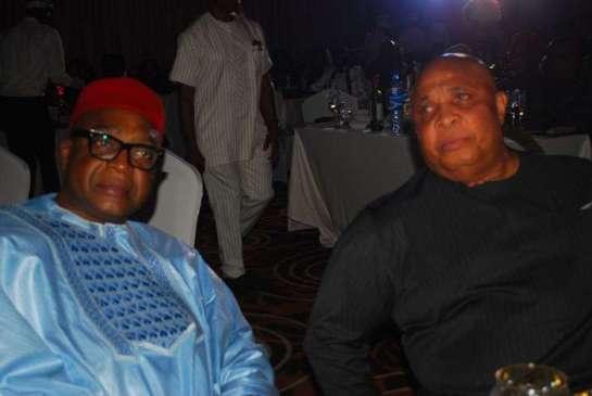 Chief Princewill Utchay and Chief Martin Agbaso