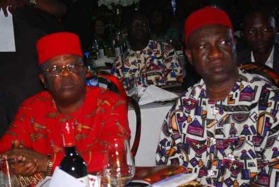 Eng.David Umahi,Ebonyi state governor and Sen Ike Ekweremadu,dep Senate president