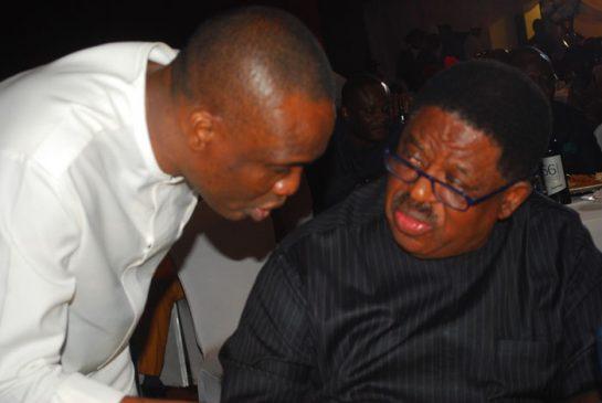 Mr. Fidelis Anosike and Sen.Sam Egwu