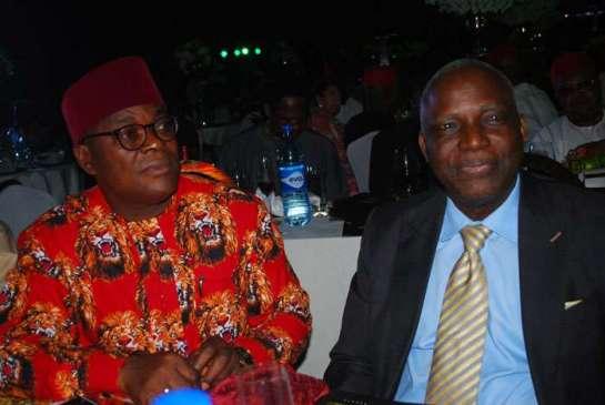 Prof. Simon Ortuanya and prof. Bath Nnaji