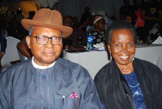 Prof. Anya O.Anya and his wife Inyang