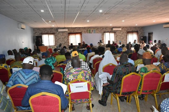 Another view of the Participants at the training programme.