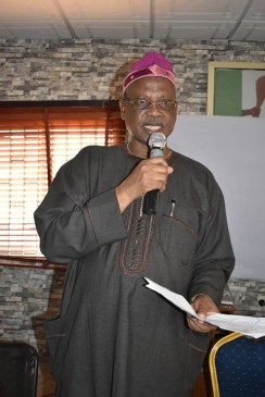 Hon Funsho Ologunde, Lagos West APC Vice Chairman and the Chairman, Strategic Committee, APC Lagos State.