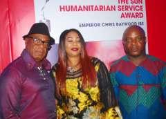 Emperor Chris Baywood Ibe,Mrs. Pat Ibe and Mr. Uchenna Ibe