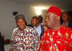 Governor Ifeanyi Ugwuanyi and Sen. Ike Ekweremadu