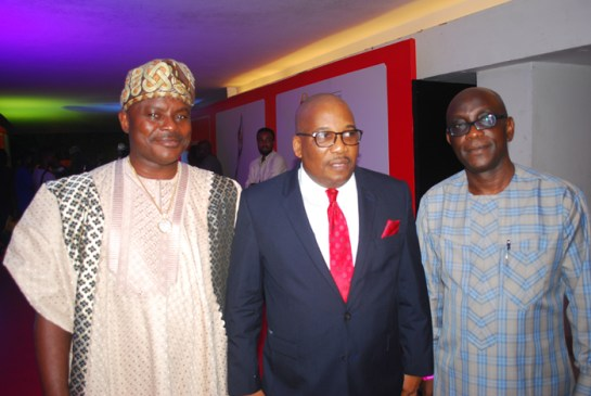 Mr.Ayodele Amimu.Mr.Eric Osagie and Mr. Gbenga Adefaye