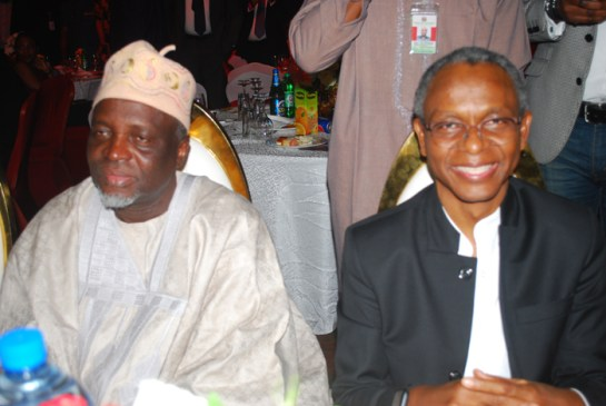 Prof. Ishaq Oloyede and Governor Nasir El-Rufai