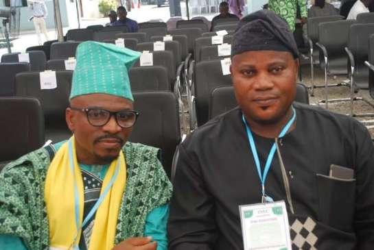 Mallam Olalekan Olofin and Hon.Akinola Obadia