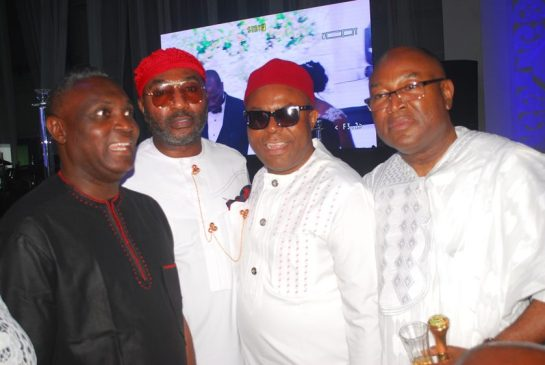 Mr. Patrick Ilo, Mr. Tony Onyema, Mr. Eche Chika Ben and Hon. Collins Onyema