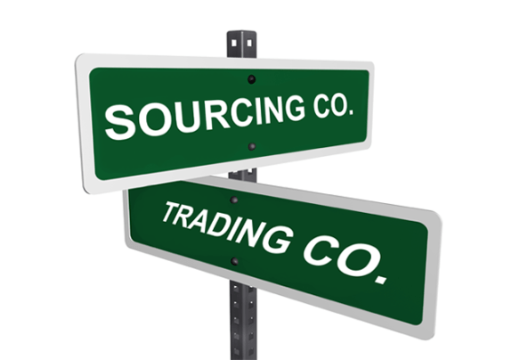 sourcing vs trading company
