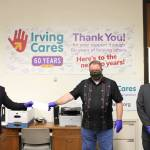 BAPS Charities Donates $7,500 to local organizations in the Dallas area.