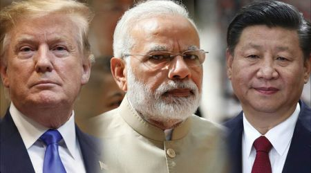 trump modi and Xi
