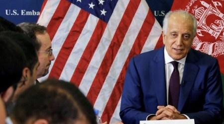 Zalmay Khalilzad, US special envoy for the peace talks.