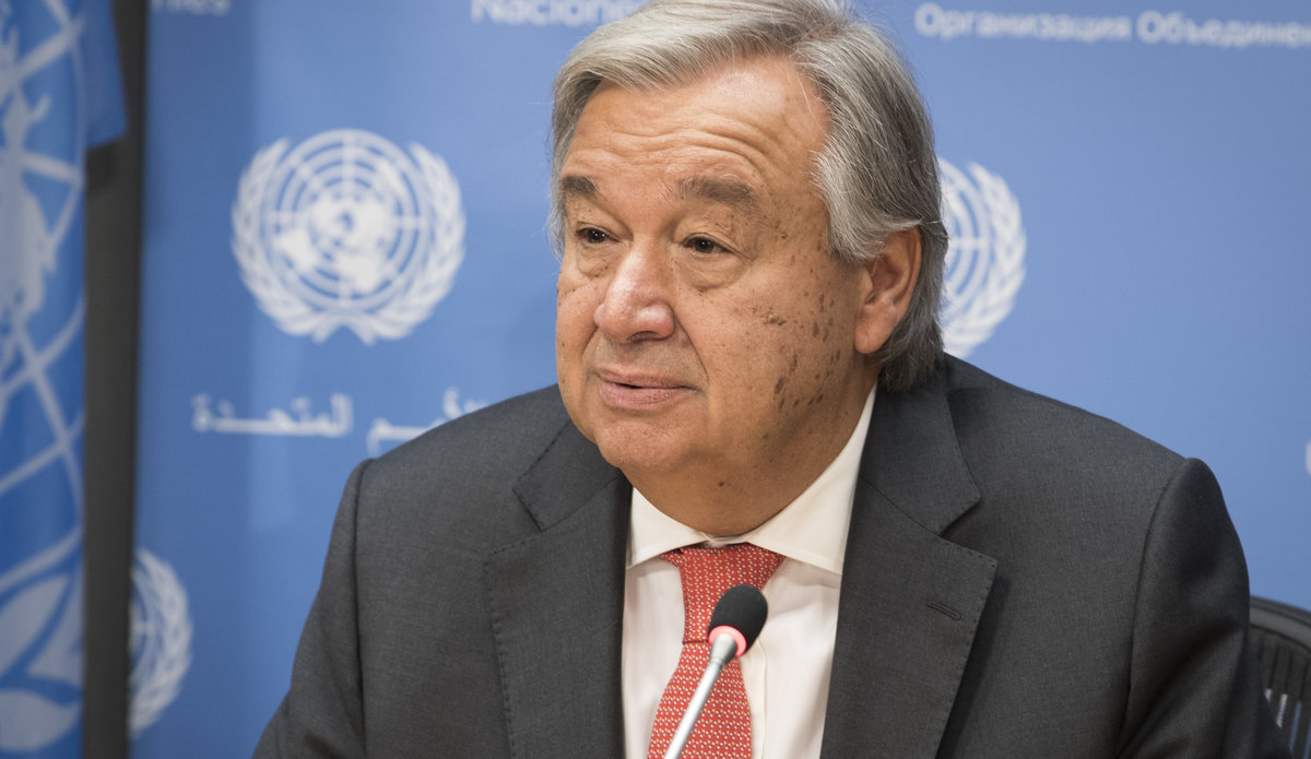 Press Conference by the Secretary-General on the occasion of the Seventy-second Session of the General Assembly