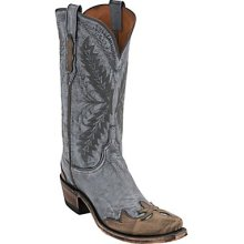 Lucchese Destroyed Denim