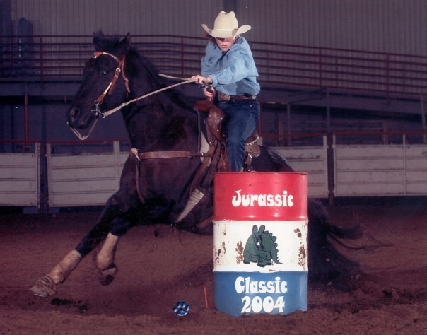 easy jet black, glen rose, jurassic classic 2004, barrel racing, photography