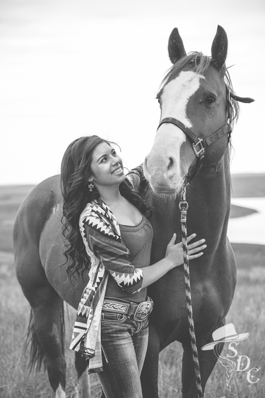 senior photos, south dakota cowgirl photography