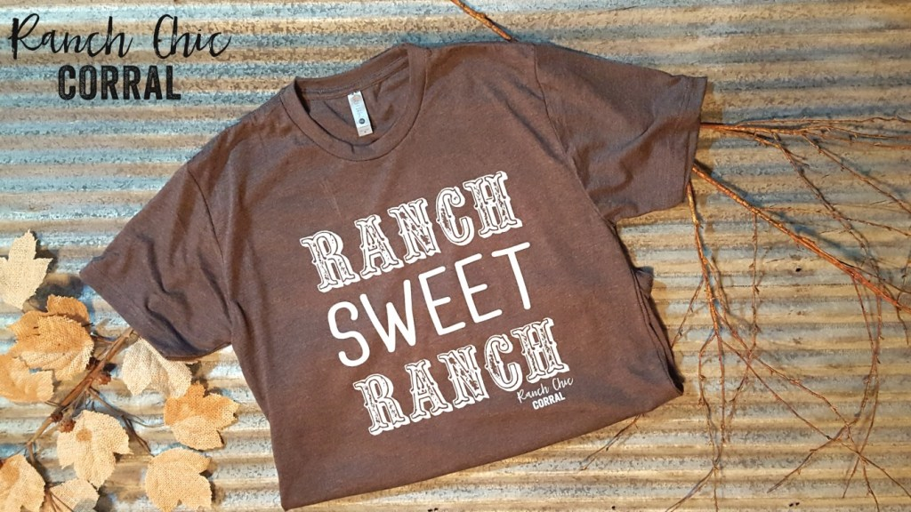 ranch chic corral, ranch sweet ranch tee