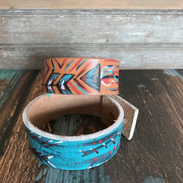 hand painted bracelets by DX Designs