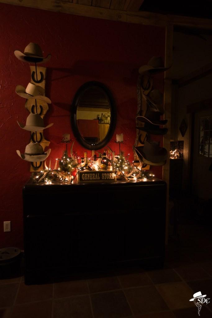 christmas on the ranch, cowboy christmas tree, christmas tree