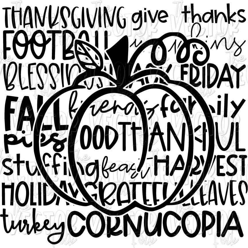 Download Thanksgiving Love SVG, DXF and PNG - THE SOUTHERN FOLK