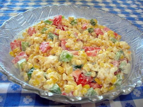 Corn Recipes, Corn Salad The Southern Lady Cooks